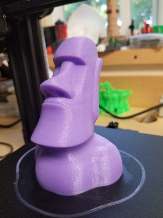 Eater Island head 3D print