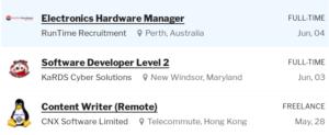 Embedded Systems Job Website