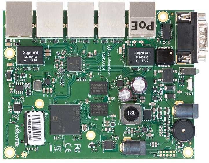 MikroTik RB450Gx4 Router board