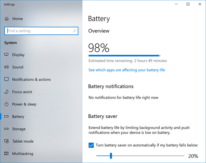 PhilPad battery life