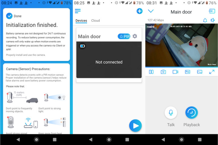 Reolink Android App Remote Access