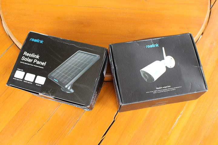 Reolink Argus Eco Review Security Camera Solar Panel