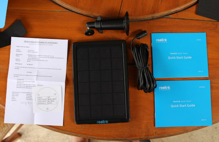 Reolink Solar Panel Surveillance Camera