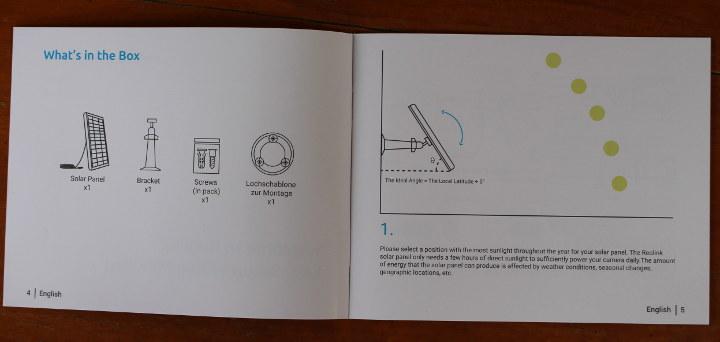 Reolink Solar Panel User Manual