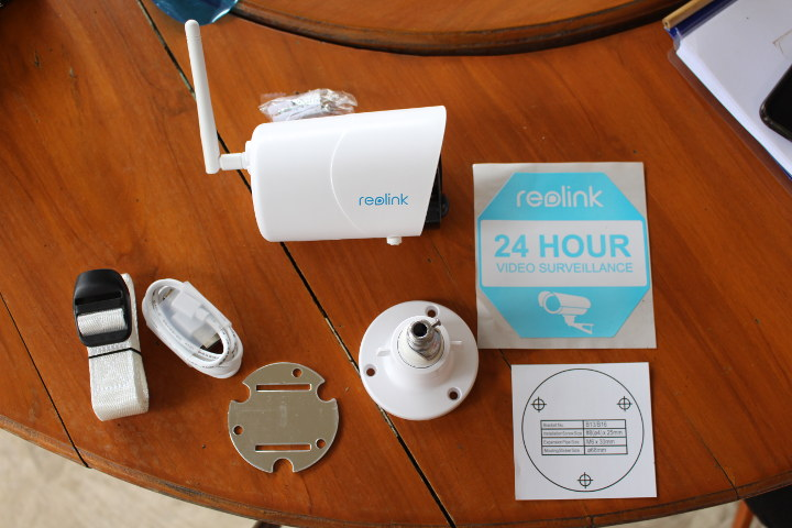 Reolink Security Camera Unboxing
