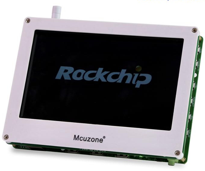 Rockchip RK3308 Board with LCD Display