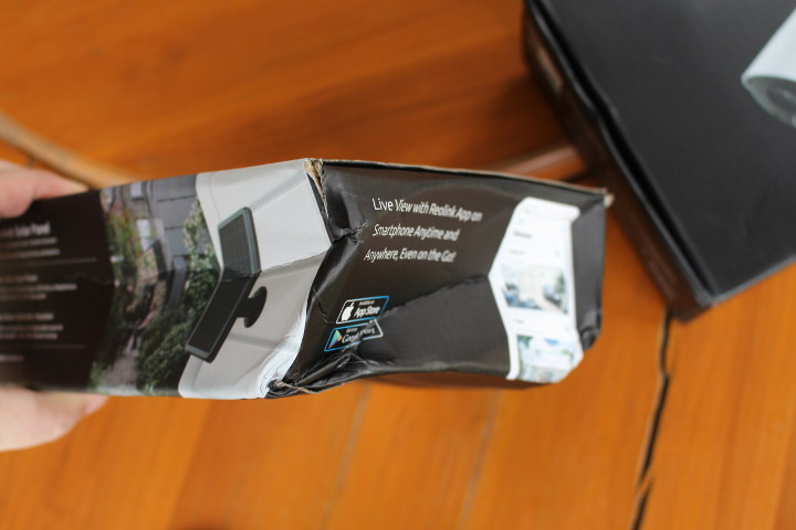 Solar Panel Damaged Package