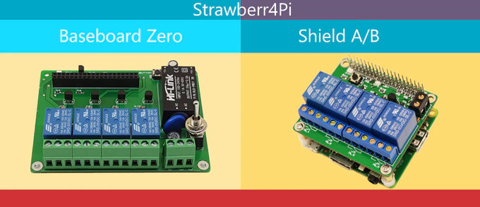 Strawberry4Pi Boards