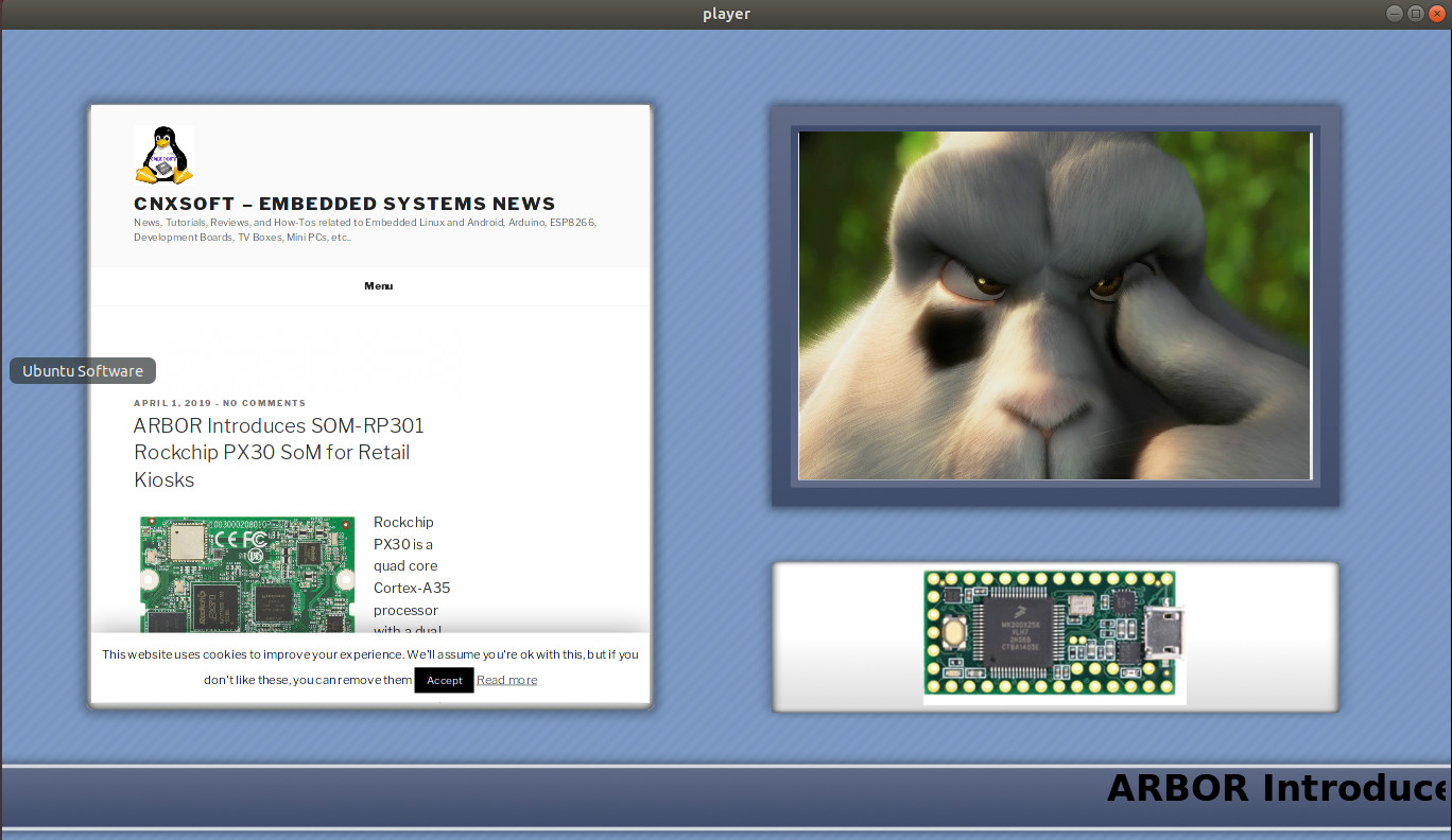 Xibo Player for Linux Released (Open Source Digital Signage Player)