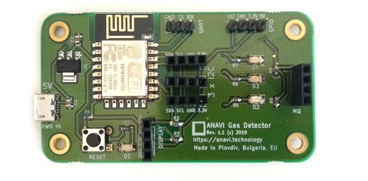 ANAVI Gas Detector Board