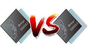 Amlogic S905X2 vs S905X3