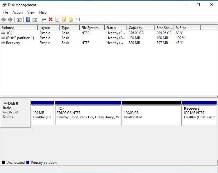 Beelink L55 ubuntu partition