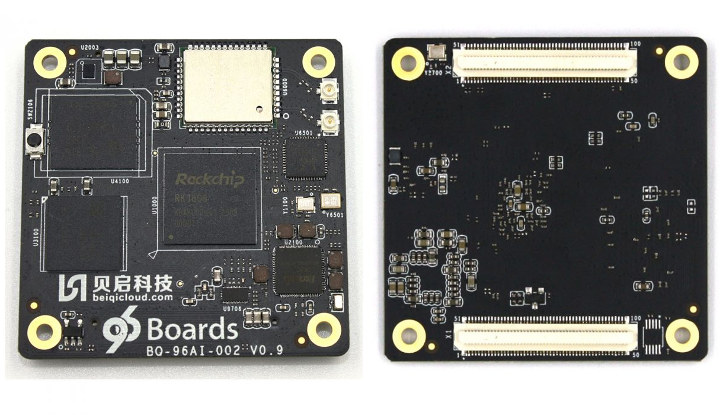 BeiQi RK1808 AIoT 96Boards SoM