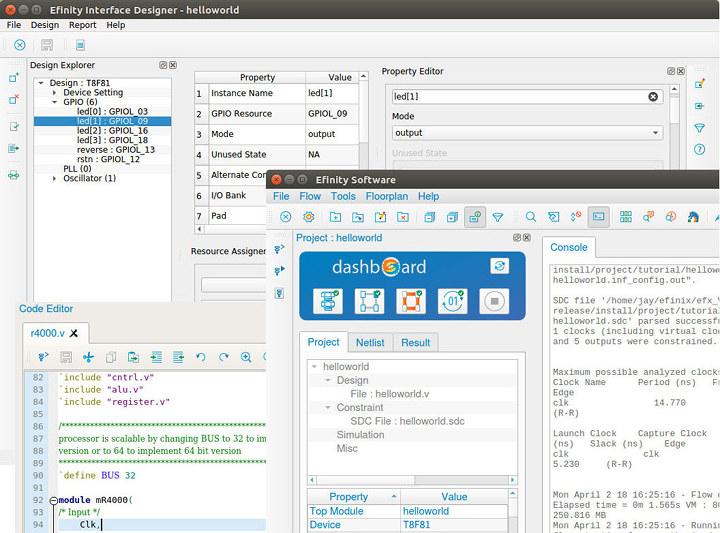 Efinity IDE Ubuntu