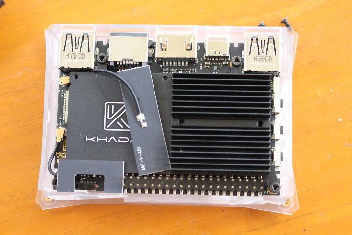 Khadas VIM3 Enclosure Heatsink