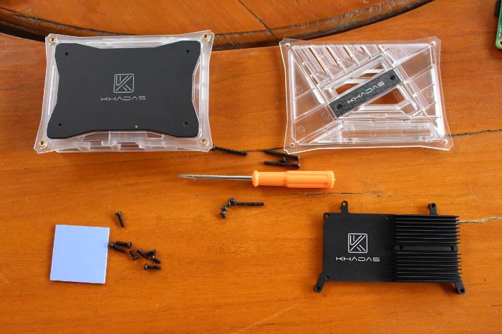 Khadas VIM3 Kit Assembly