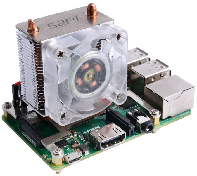 Raspberry Pi 4 Cooling Fan