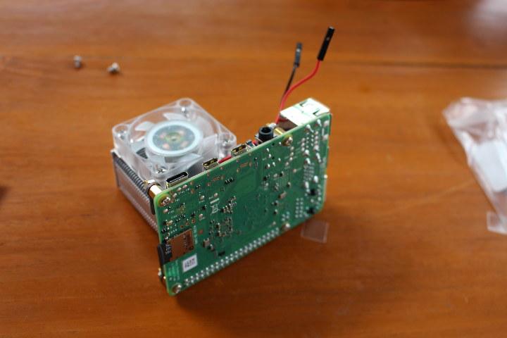 Raspberry Pi 4 Fansink Assembly