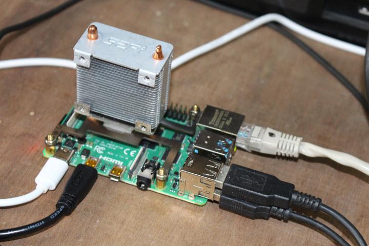 Raspberry Pi 4 Huge Heatsink