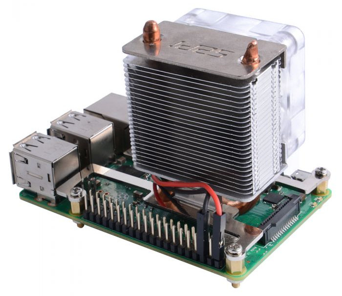 $20 ICE Tower CPU Cooling Fan Targets Raspberry Pi 4