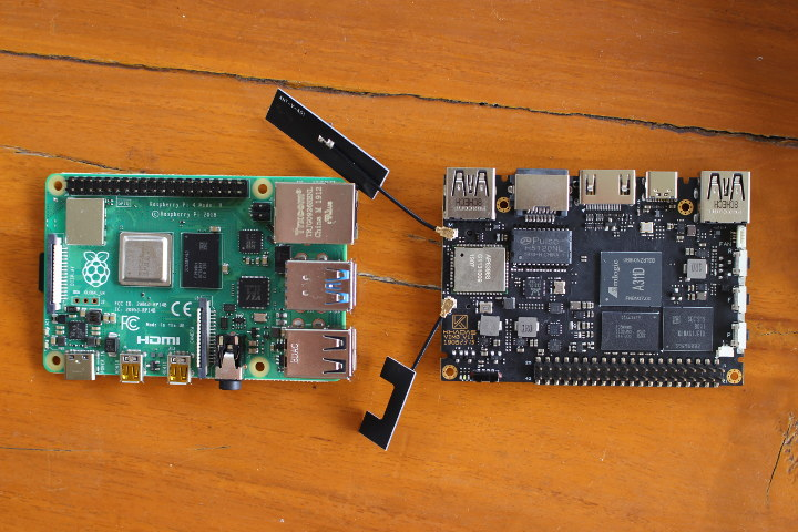 Raspberry Pi 4 vs Khadas VIM3