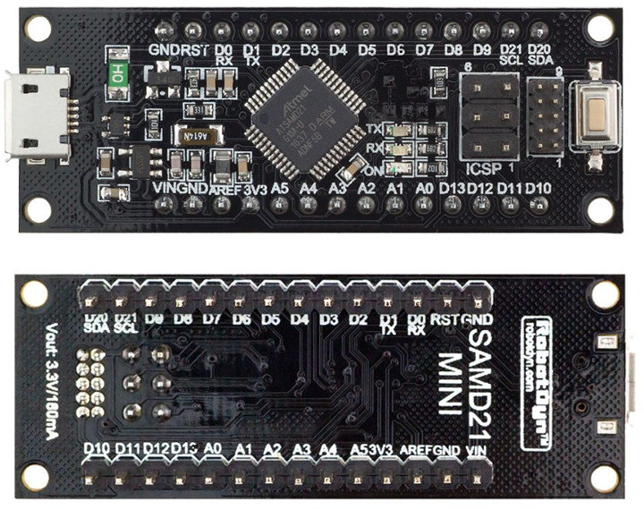 SAMD21 Mini Development Board