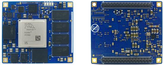 Ultrascale+ ZU3EG System-on-Module