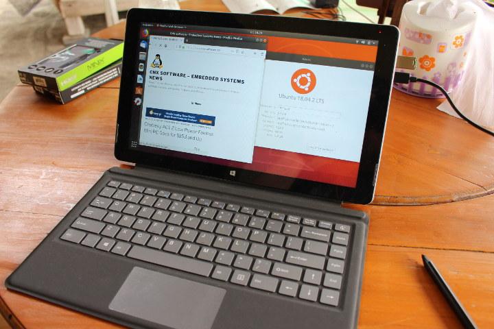 XIDU PhilPad Ubuntu 18.04