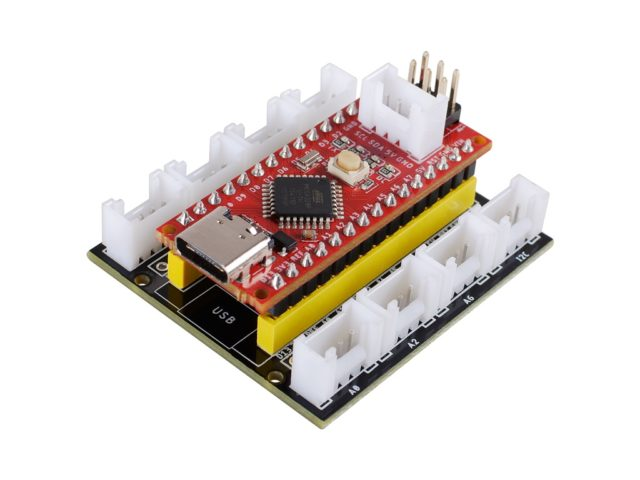 Seeeduino Nano board with Grove Shield