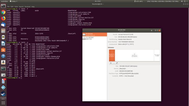 ubuntu ssd