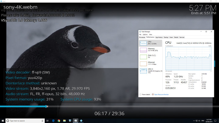 Windows kodi vp9