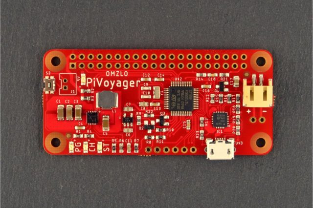 PiVoyager: the smart UPS for the Raspberry Pi.