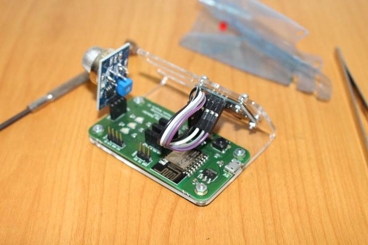 ANAVI Gas Detector Wiring