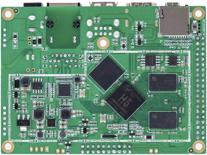 Allwinner H5 Pico-ITX SBC