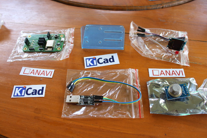Anavi Gas Detector Starter Kit Unboxing