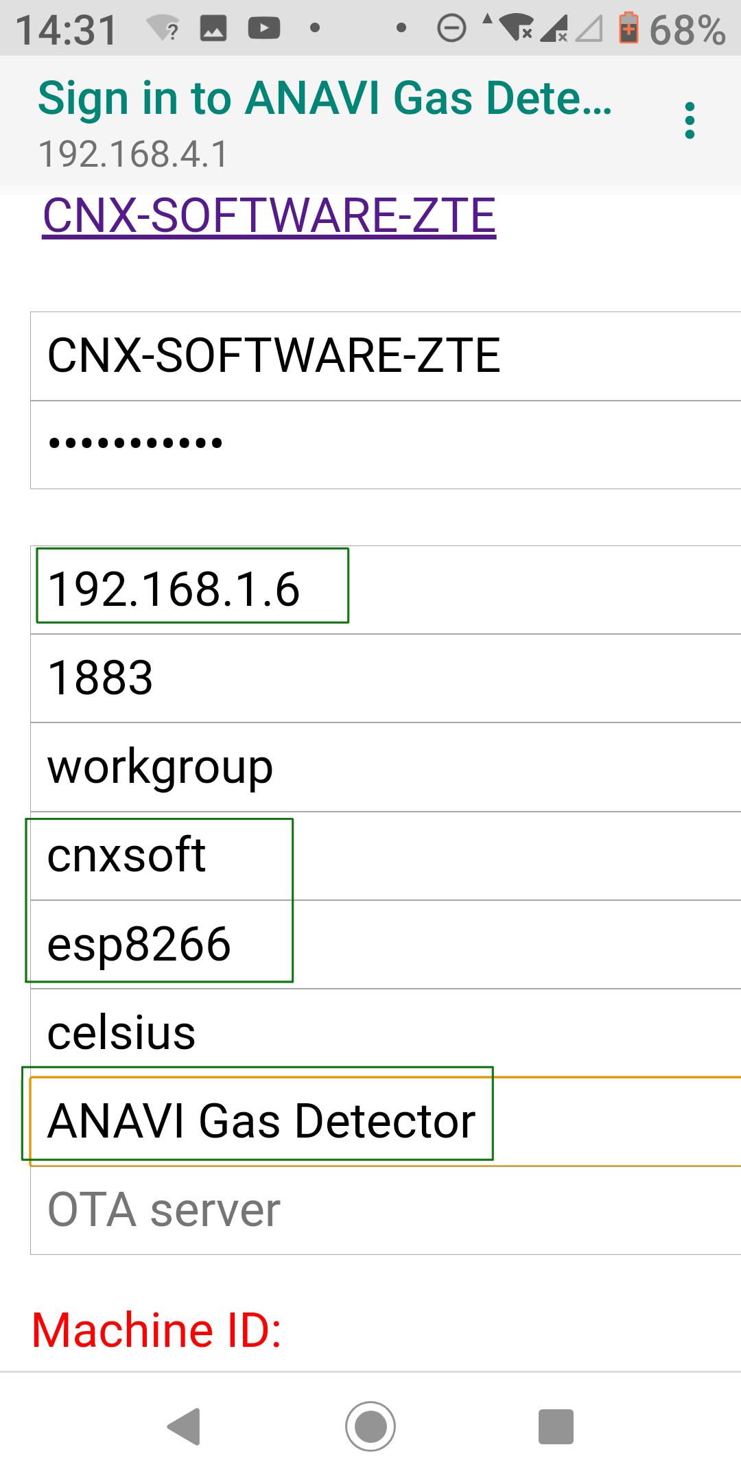 ESP8266 MQTT Configuration