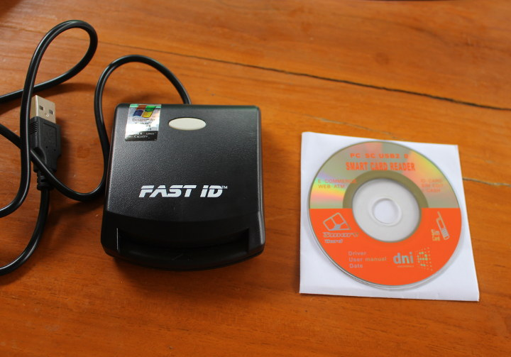 EZ100PU Smart Card Reader Driver CD