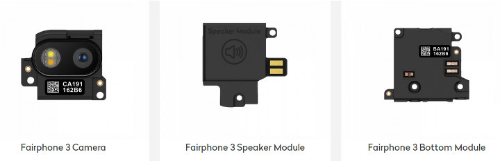 Fairphone 3 Modules
