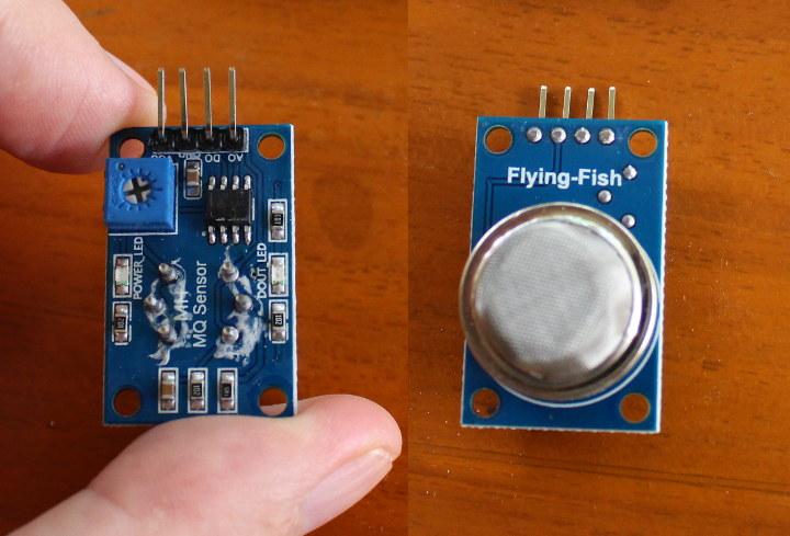 Flying FIsh MQ Sensor