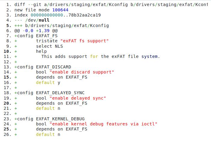 Linux Kernel exFAT