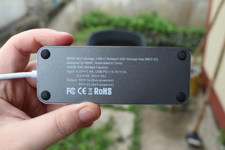MINIX NEO S2 240GB SSD