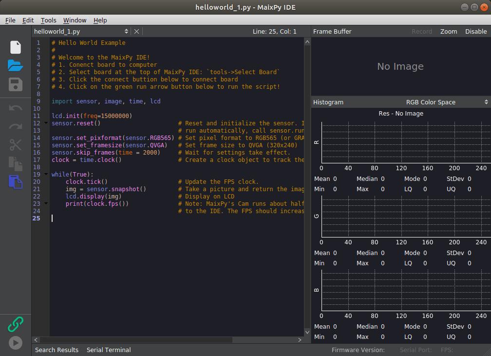 MaixPy IDE