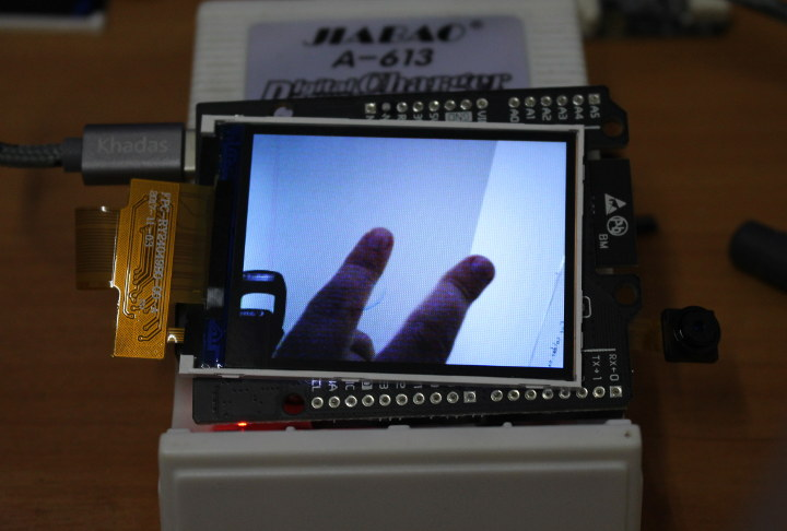 Maixduino Camera Display