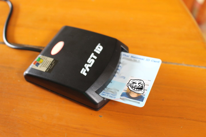 Smart Card Reader Thai ID Card