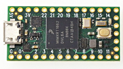 Teensy 4 0 Launched for $20 with a Much Faster NXP i MX RT1062 Arm