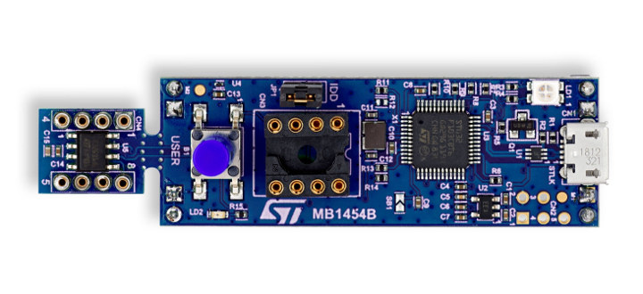 8-pin STM32 Discovery Kit