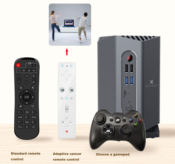 Amlogic S922X Android Gaming Console TV Box
