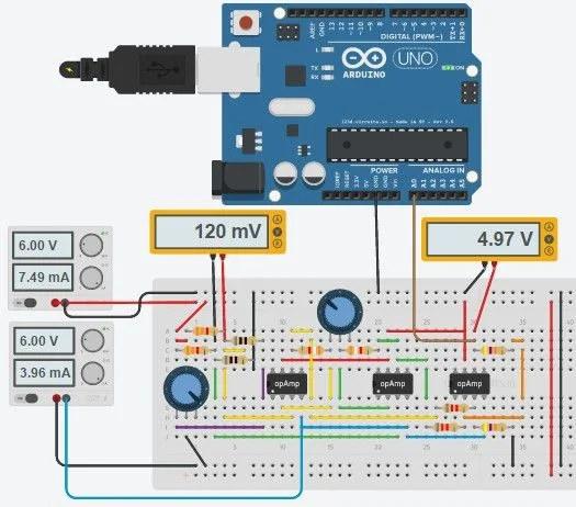 Arduino Wiring PT100