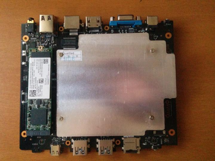 CHUWI GBox-Pro M.2 SSD installation