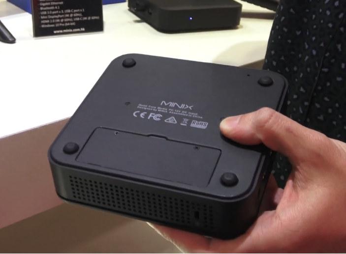 Intel Mini PC M.2 SSD Bay